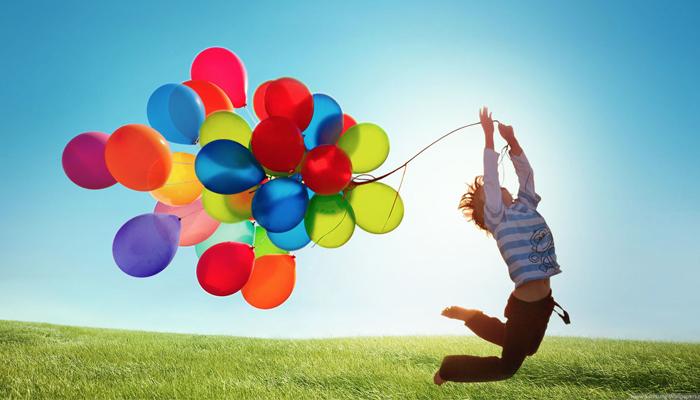 Palloncini colorati tutti i palloncini che vuoi consegne - Immagine con palloncini ...